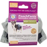 PoochPants Reusable Dog Diaper, X-Small, 4 To 7 lbs