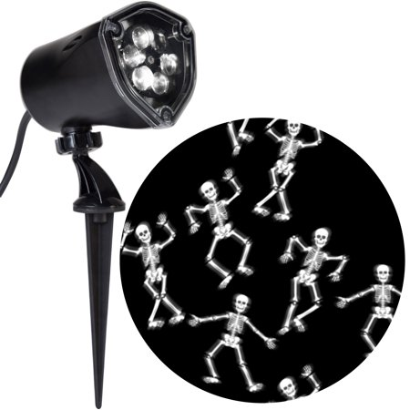 Halloween Lighting Effects (Halloween Lightshow Projection-Points of Light-Skeleton White)