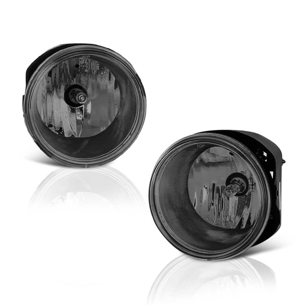 VIPMOTOZ OE-Style Front Fog Light Driving Lamp Assembly For 2005-2010 Jeep Grand Cherokee - Power Switch & Universal Wiring Included, Driver & Passenger Side