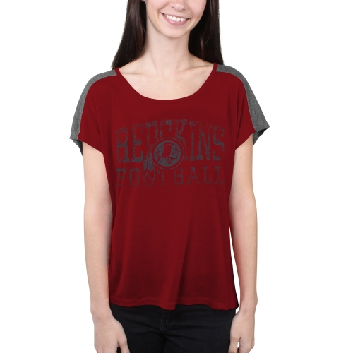 Washington Redskins Majestic Women's Play For Me T-Shirt - Burgundy