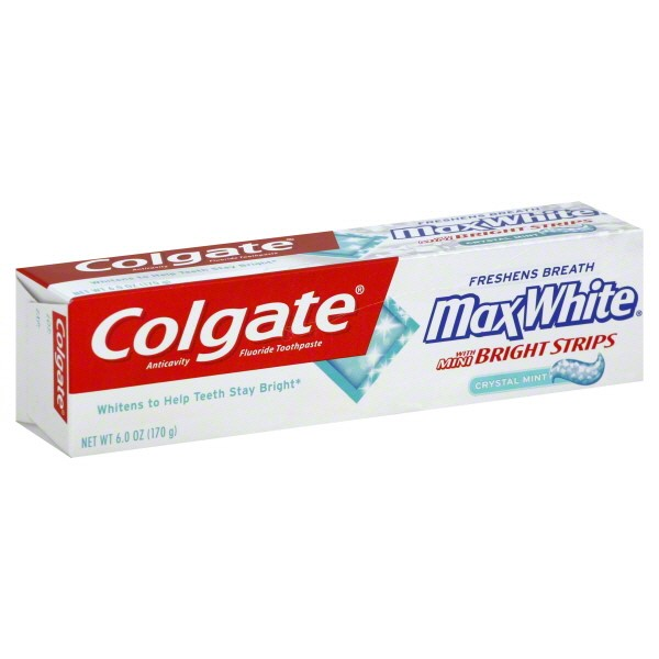 how to use colgate whitening strips