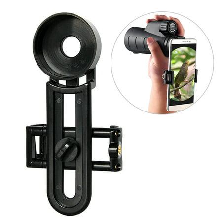 Monocular Phone Holder Spotting Scope Phone Mount Telescope Binocular Adapter Mount 36MM / 39MM / 42MM / 40MM / 40.4MM (Best Hunting Spotting Scope For The Money)