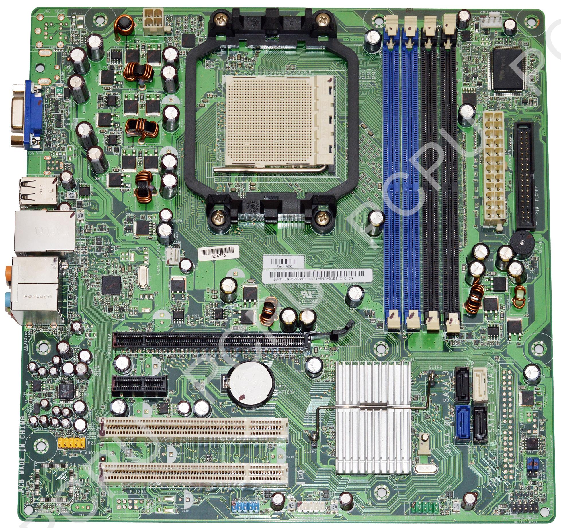 RY206 Dell Inspiron 531 AMD Motherboard