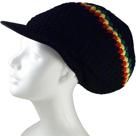 Shoe String King Rasta Dread Knit Tam Hat - Rastafarian Dreadlock Cap or Tam. Multiple Designs and Sizes. Fits Most Hair Styles and Lengths. Knit, Woven and Sewn For duration.