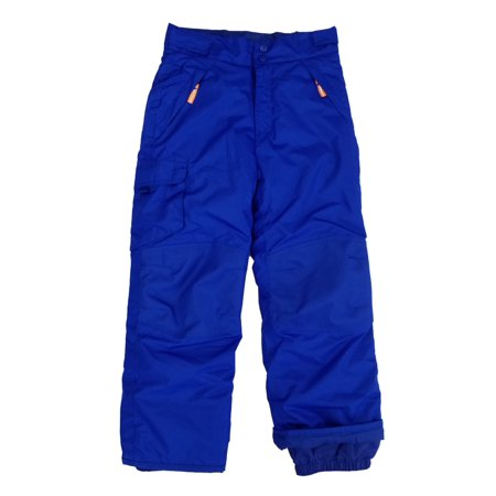 Boys Royal Blue Water & Wind Resistant Lightweight Insulation Cargo Snow