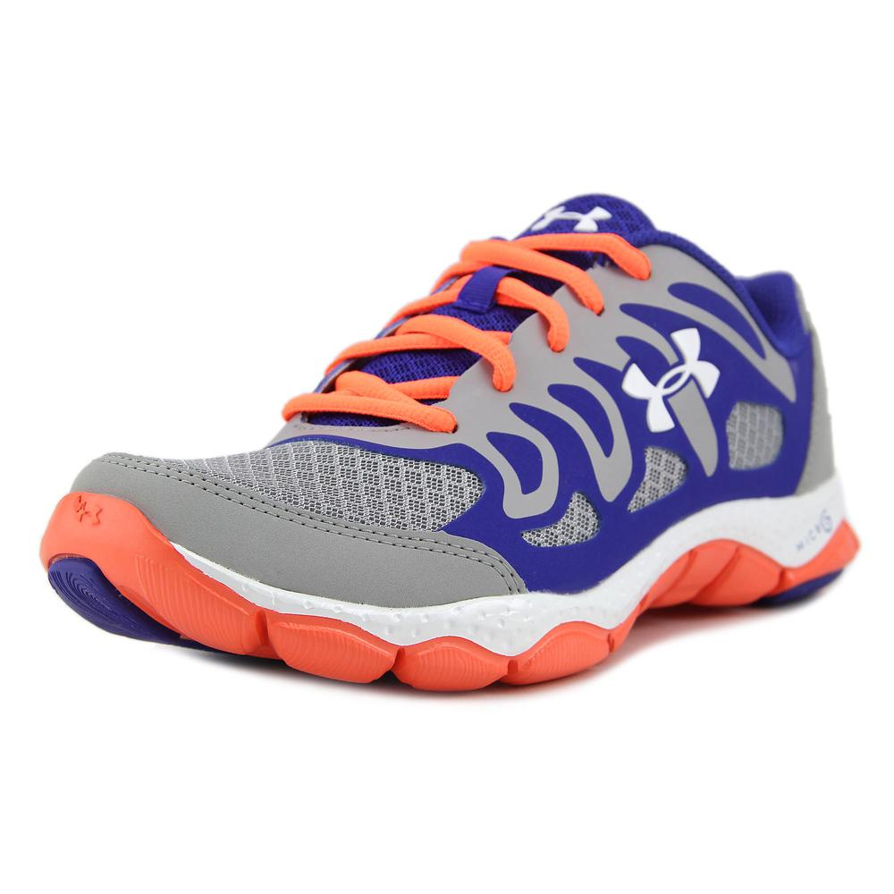 Under Armour BGS Micro G Engage Youth  Round Toe Syntheti...