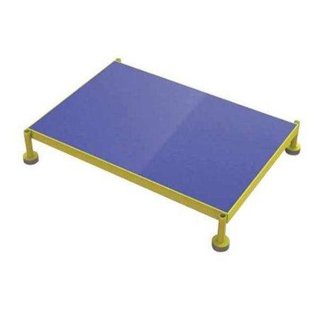TRI-ARC Adjust. Height Work Platform,9In-14In MCOS36249 (Blue Arcs)