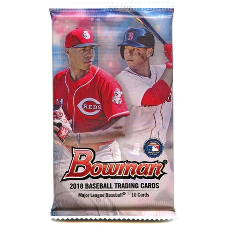 Mlb 2018 Bowman Baseball Trading Card Pack