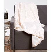 Alistair Collection Ultra Velvet Plush Luxury Sculpted Throw Blanket By Home Fashion Designs