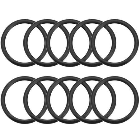 O-Rings Nitrile Rubber 21.8mm x 28mm x 3.1mm Seal Rings Sealing Gasket 10pcs - image 3 of 3
