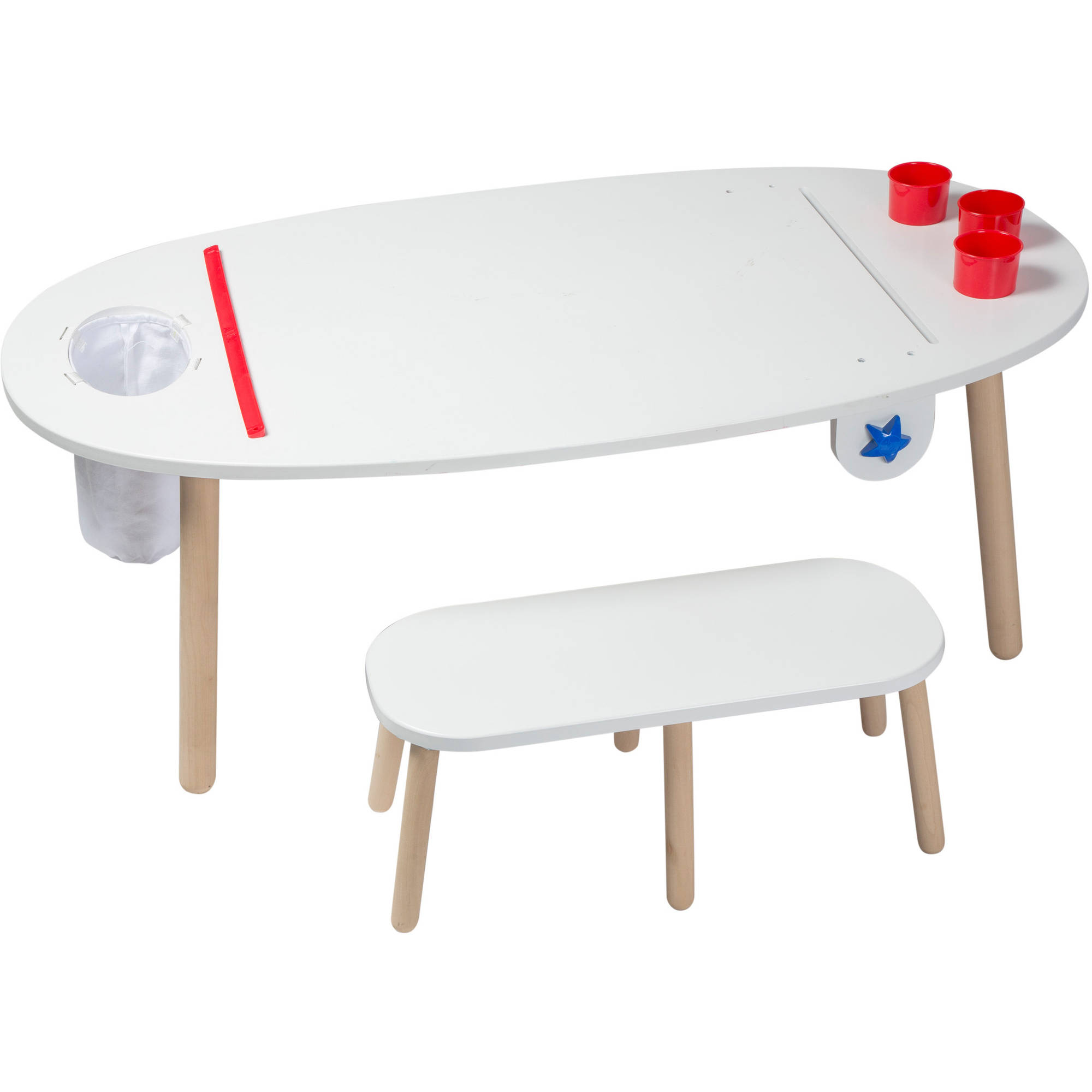ALEX Toys Artist Studio Super Art Table, White