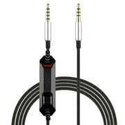 Replacement Audio Cable for Astro A10 A40 A30 A50 Headsets Cord Lead Compatible with Xbox One Play Station 4 PS4 Headphone Audio Extension Cable (6.5 Feet)