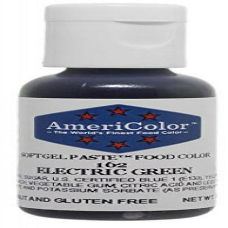 Americolor Gel Paste Food Color, Electric Green - Walmart.com