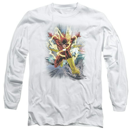 Jla - Brightest Day Flash - Long Sleeve Shirt - XXX-Large