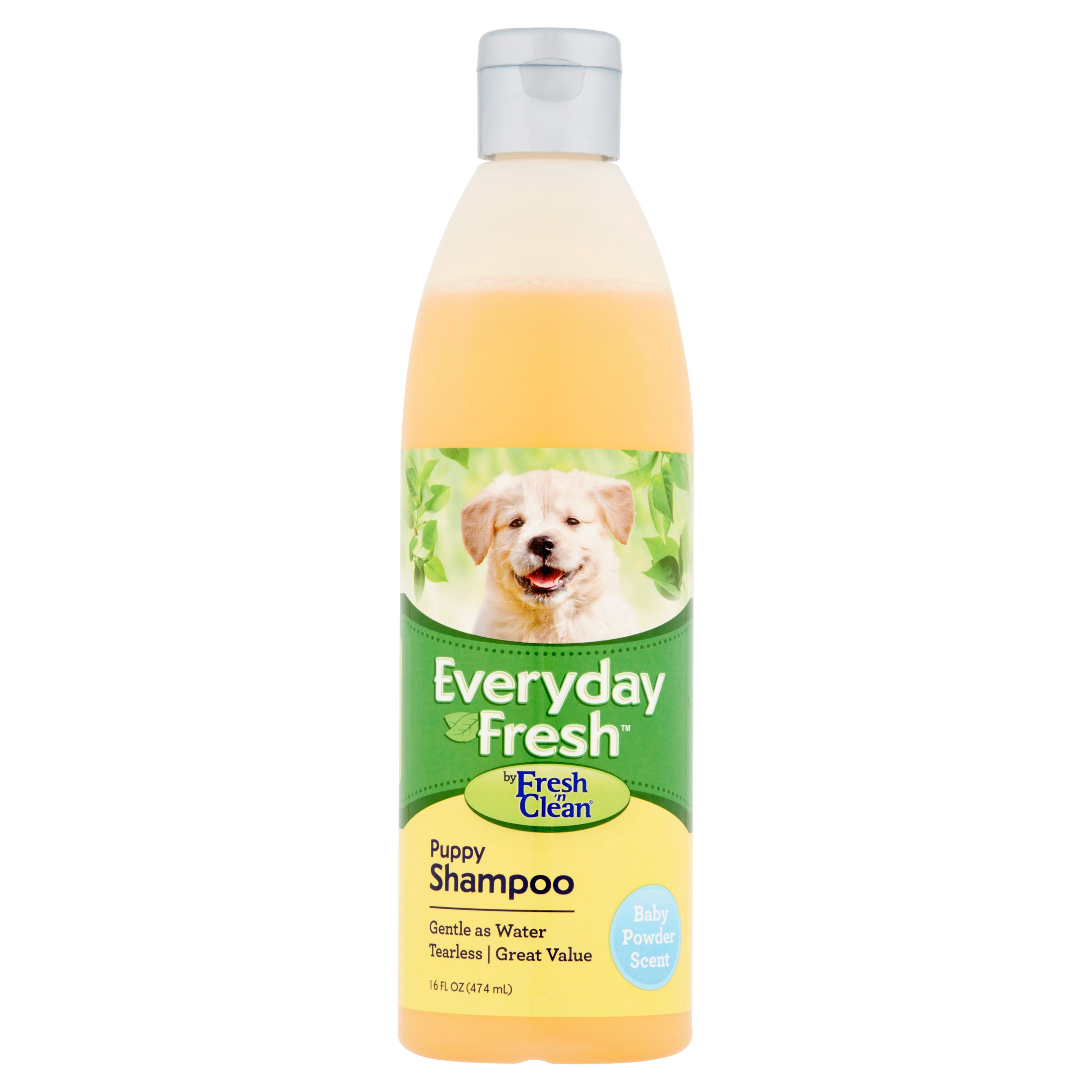 Fresh 'n Clean Everyday Fresh Puppy Shampoo, Baby Powder Scent, 16 oz. by Pet-Ag, Inc., An Employee-Owned Company