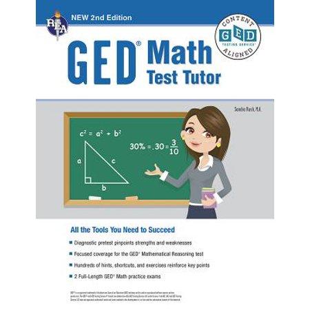 GED(R) Math Test Tutor, 2nd Edition