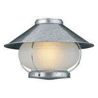 Galvanized Single Light Outdoor Light Kit from the Craftmade Collection
