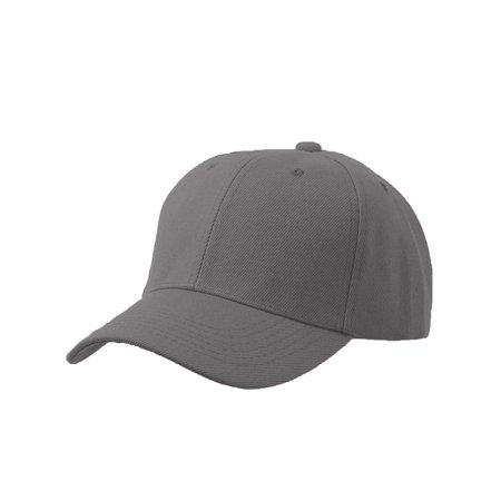 d77d7aa0ab6d0 Men's Plain Baseball Cap Adjustable Curved Visor Hat