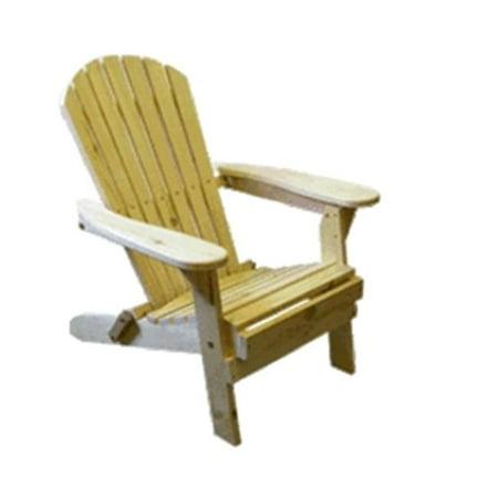 Bear Chair BC300P Pine Folding Bear Chair Kit (Ki Folding Chair)