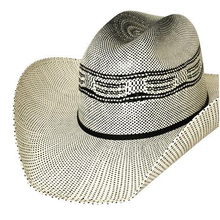 Bullhide Justin Moore Redneck Reason Vented Straw Western Hat - Redneck Hats