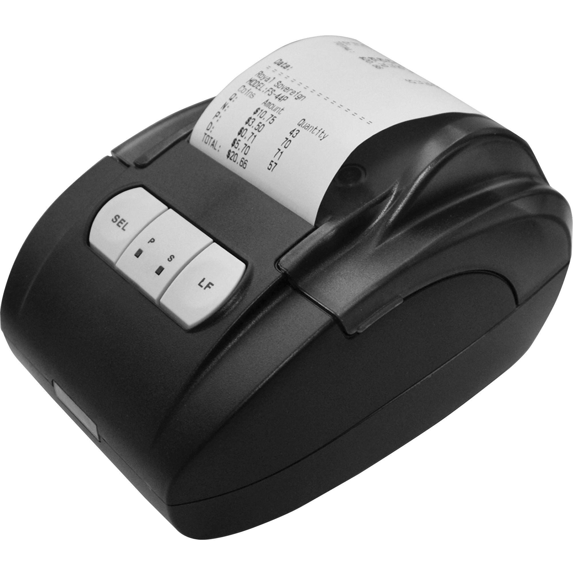 Royal Sovereign, RSIRTP1, Attachable Thermal Printer for FS-44P 4-Row Digital Coin Sorter, 1 Each