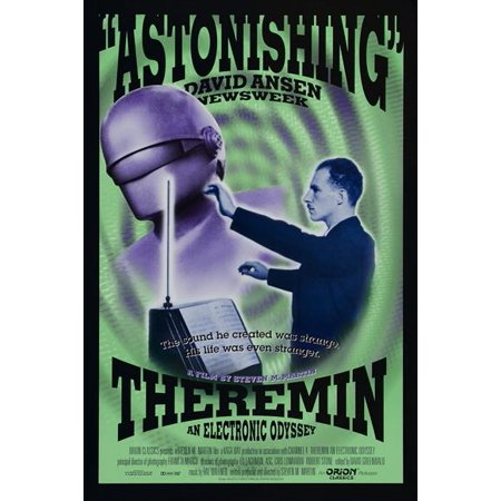 Theremin Halloween Music (Theremin: An Electronic Odyssey (1994) 11x17 Movie)