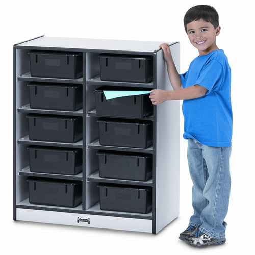 Jonti-Craft Tub Single Storage 10 Compartment Cubby