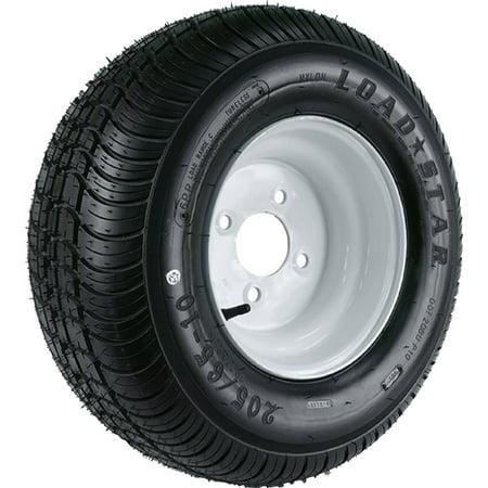 Loadstar Wide Profile Tire and Wheel (Rim) Assembly K399, 215/60-8 Bias (Replaces 18.5x8.50-8) (Reno Wide Rim)