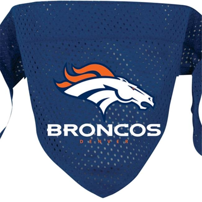 DoggieNation 716298009839 Large Denver Broncos Dog Bandana