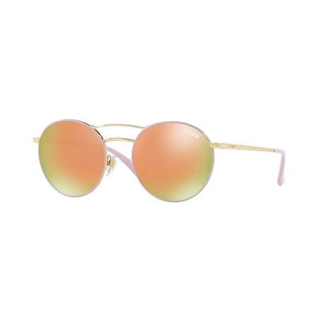 En Vogue Accessories - Authentic Vogue Sunglasses VO4061S 50245R Gold Pink Frames Orange Lens 52MM