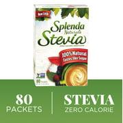 SPLENDA Naturals Stevia Sweetener, 80ct packets Zero Calorie Stevia Sweetener