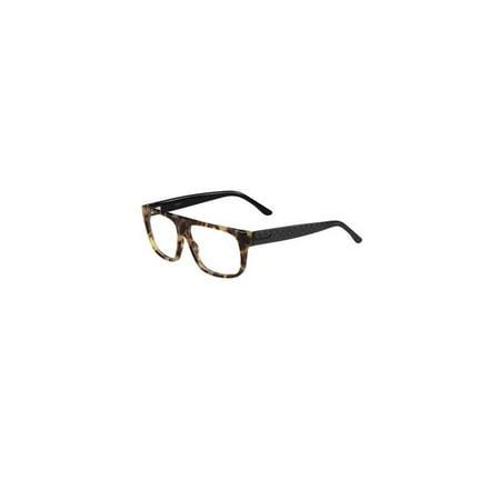 9f53107d4599 Mens Eyeglasses 1009 N 555 14 Plastic Rectangle Light Havana Frames -  Walmart.com