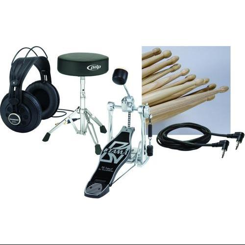 Samson Electronic Drum Set Add-on Pack 2 with Tama Bass Drum Pedal