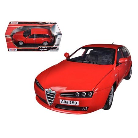 Motormax 79166r Alfa 159 SW Red 1-18 Diecast Car Model - image 1 of 1