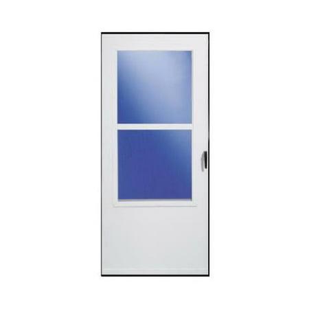 Full View Storm Doors (Larson Mfg 029833U Storm Door, White Vinyl, Solid Wood Core, 30 x 81-In.)