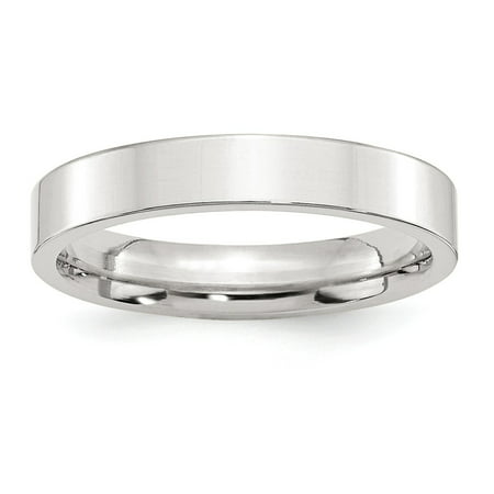 - SS 4mm Comfort Fit Flat Size 4.5 Band