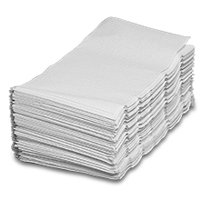"""Soft Touch White Single-Fold Towel   Width: 9 1/4"""" by Paper Mart"""
