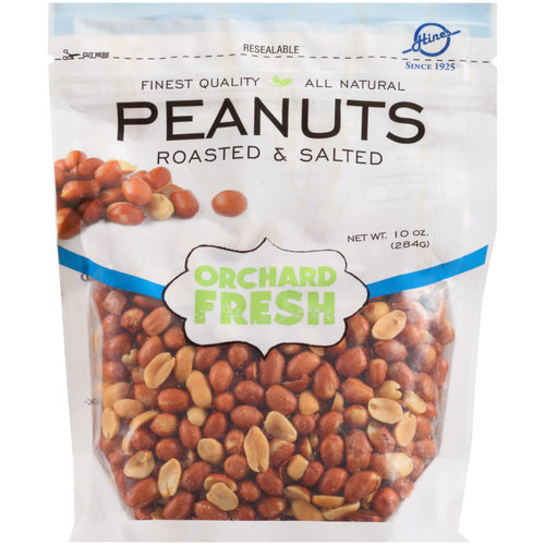 Hines Orchard Fresh Roasted & Salted Peanuts, 10 oz