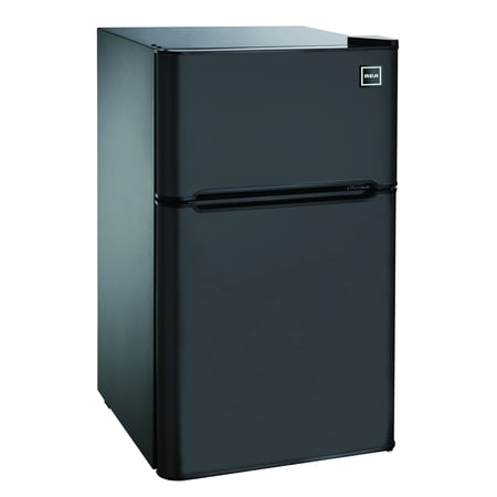 RCA 3.2 Cu Ft Two Door Mini Fridge with Freezer RFR832,