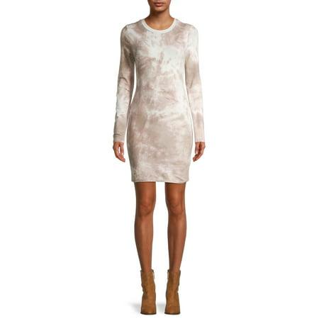Liv & Lottie Juniors Womens Long Sleeve Bodycon Dress