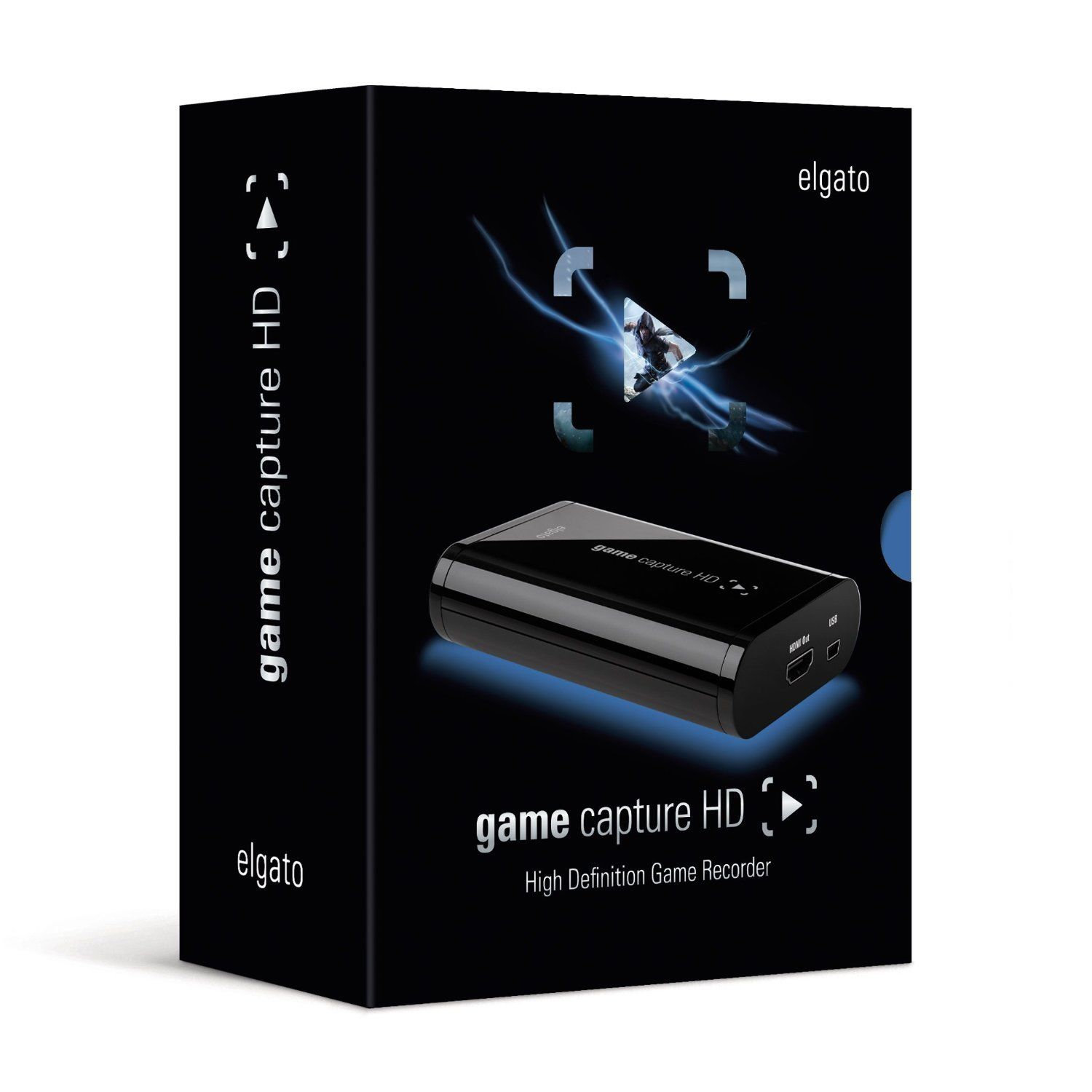 Certified Refurbished Elgato Game Capture HD Xbox 360/One Playstation PS3/PS4 Recorder MAC/PC