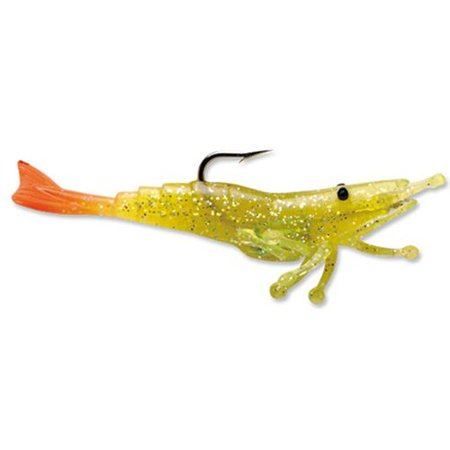 Storm wildeye live shrimp 1 4 chartreuse silver fire tail for Fishing with live shrimp