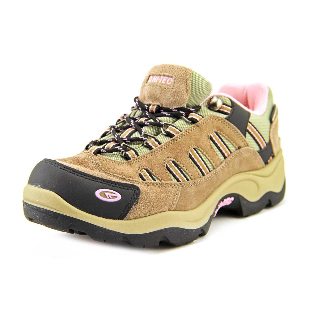Hi-Tec Bandera Low WP WOS Women  Round Toe Suede Tan Hiking Shoe
