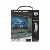 Monster UHD Platinum Fiber Optic HDMI Cable - 75ft