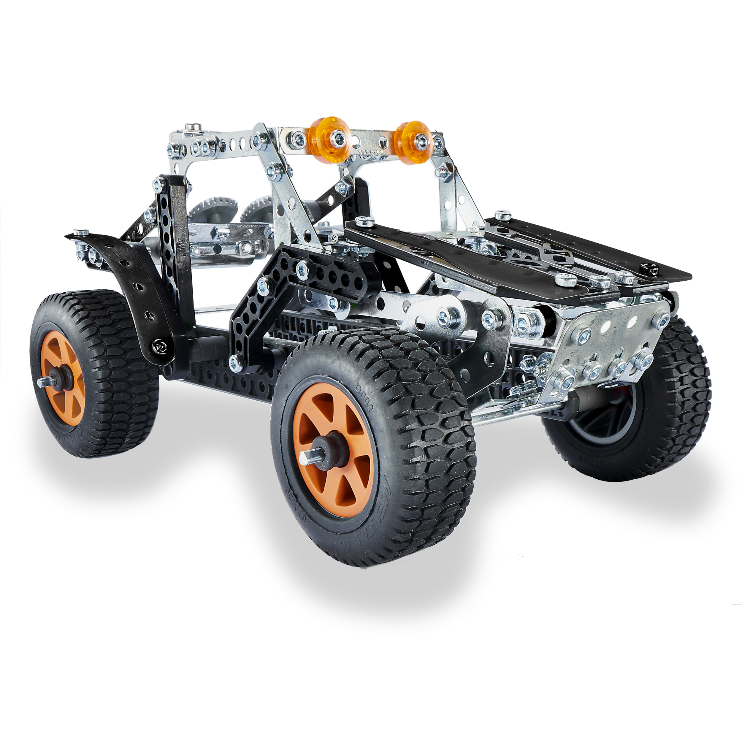 Erector by Meccano, 4x4 Off-Road Truck 25 Model Building Set, 443 Pieces, For Ages 9 and... by Spin Master Ltd