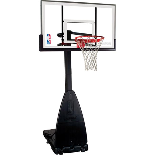 Spalding Glass Portable Basketball System 54'' by Huffy Sports Company