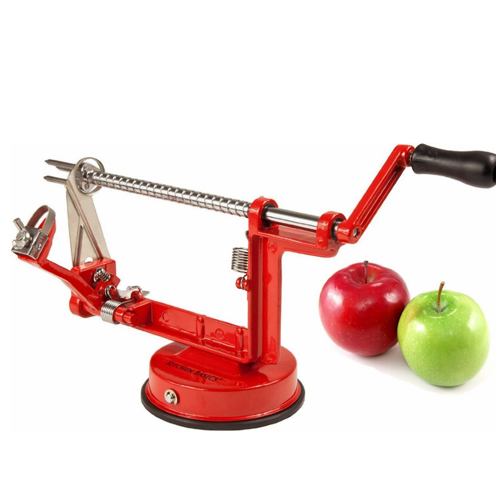 Ktaxon 3 in 1 Manual Fruit Apple Peeler Corer Slicer Slinky Machine Potato Cutter Kitchen Tool