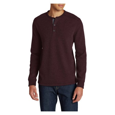 Flag Thermal Shirt - Eddie Bauer Men's Eddie's Favorite Thermal Henley Shirt