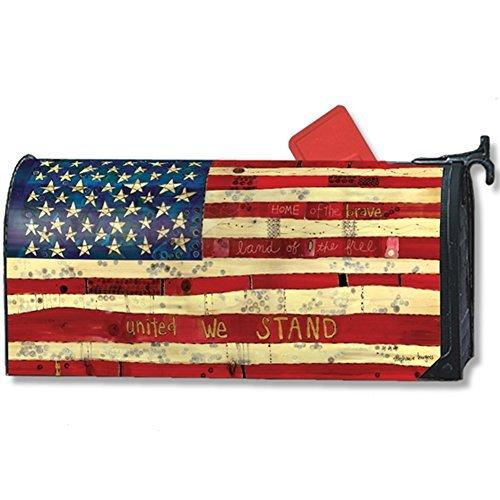 Magnet Works Home of the Brave Patriotic Mailwrap #01299