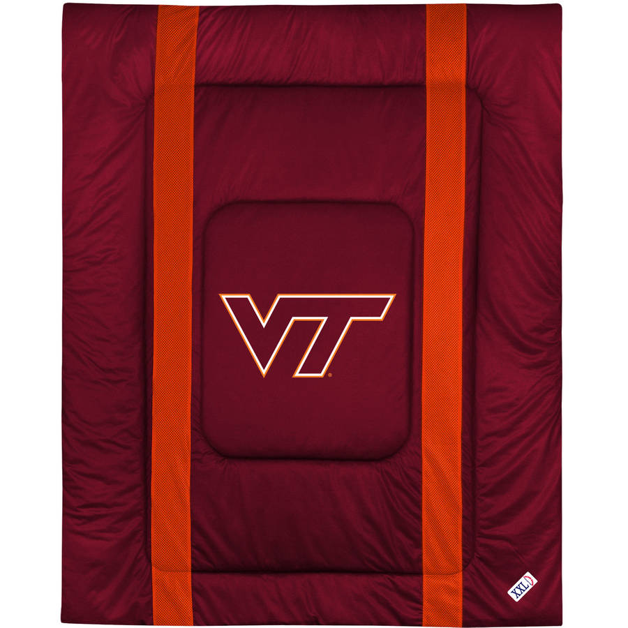 NCAA Virginia Tech Sidelines Comforter
